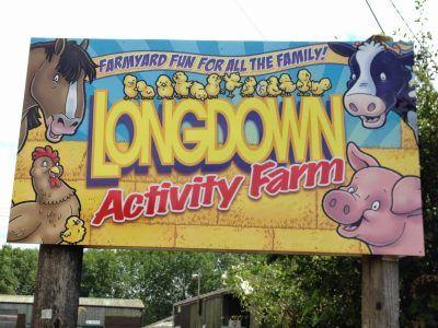 Longdown farm entrance