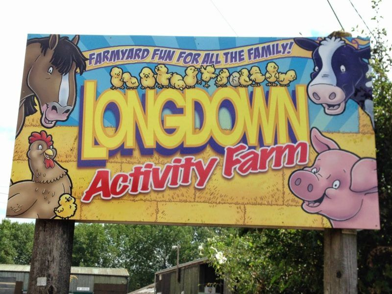 Longdown farm entrance