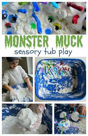 Monster Muck Sensory Tub