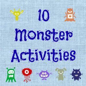 Ten Monster Activities