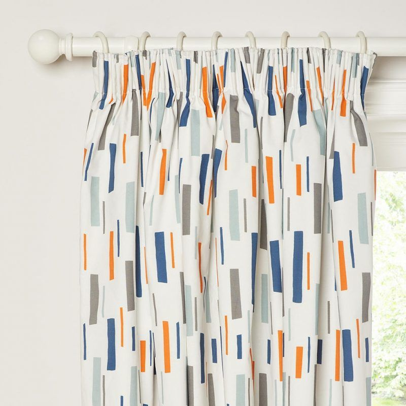 Children's patterned curtains