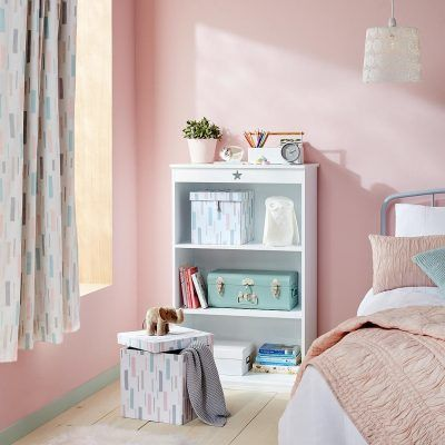 Children's bedroom with fragment theme accessories
