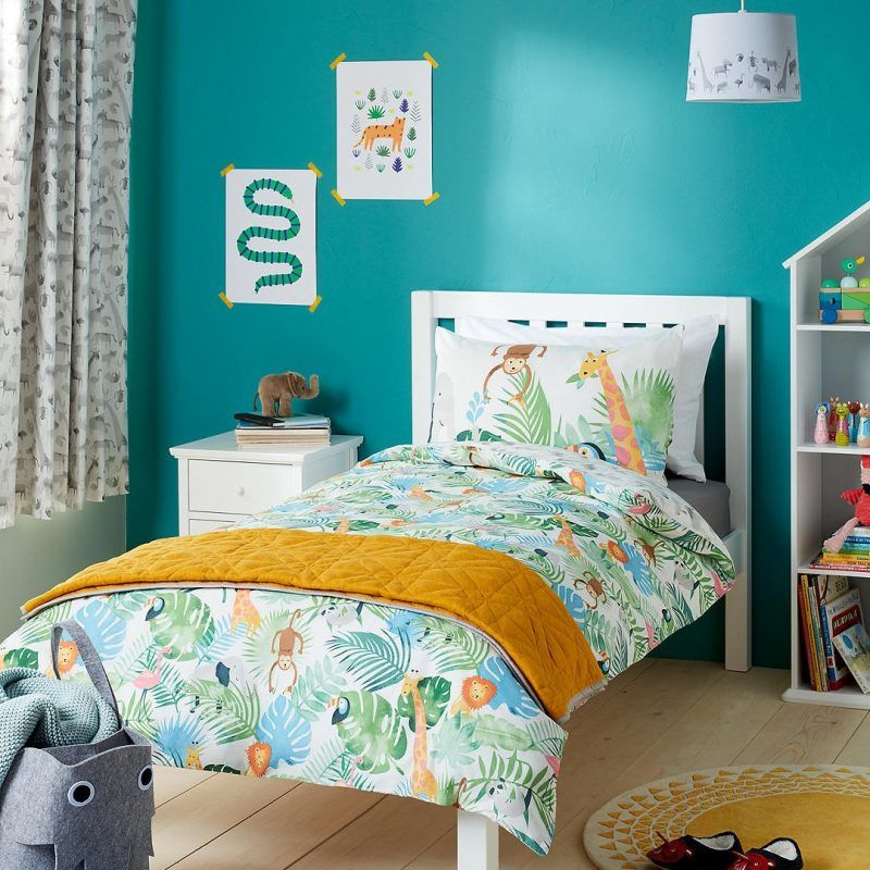 Safari theme children's bedroom