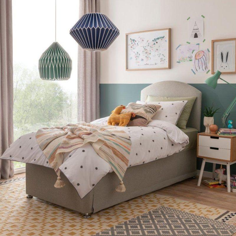 Single divan bed set