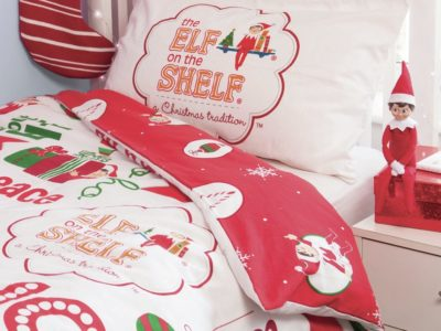 Christmas themed bedding