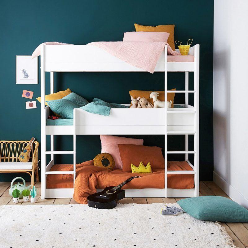 3-tier bunk beds