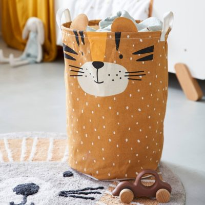 Tiger Themed Storage Hamper