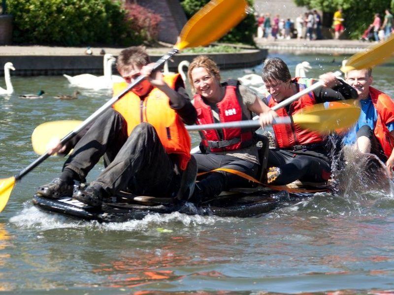 Crafty-Craft Boat Race