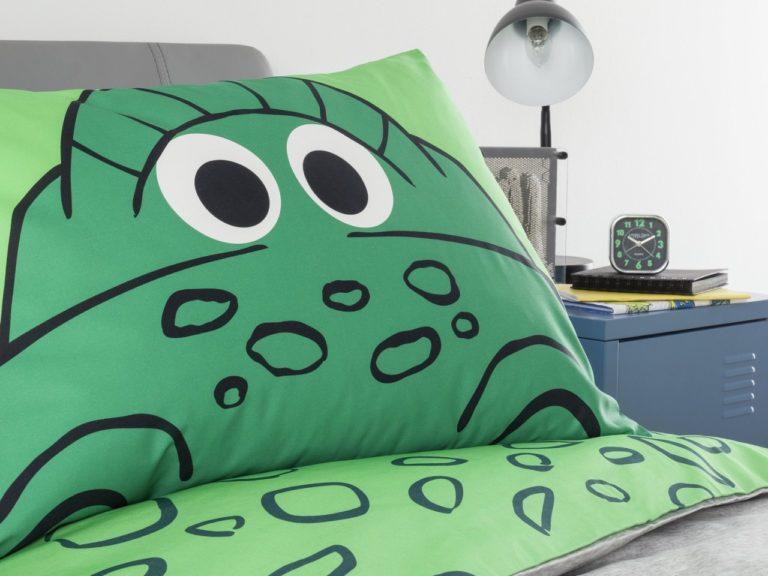 Cute Dinosaur themed pillowcase
