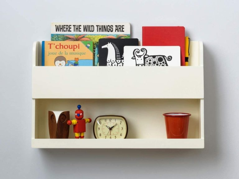 Bedside wall-mounted wall shelf