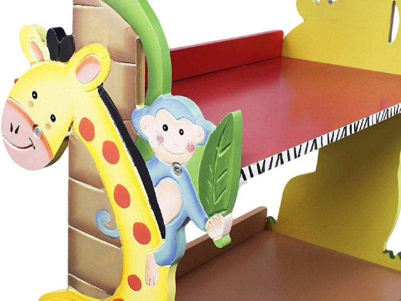 Giraffe Themed Bookcase