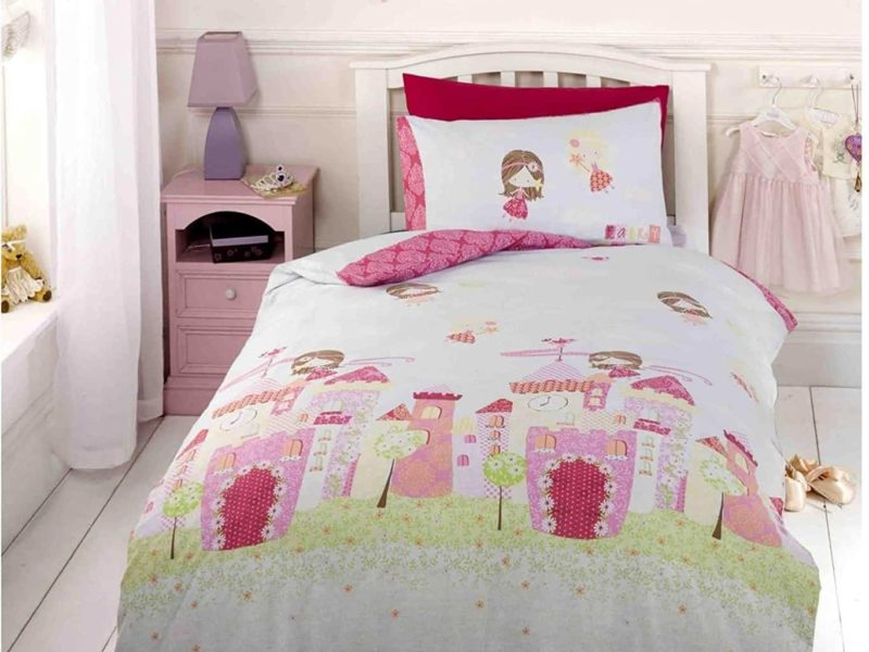Fairytale themed bedding