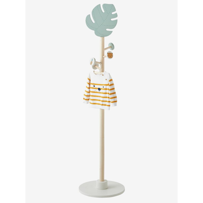 Jungle-themed coat stand