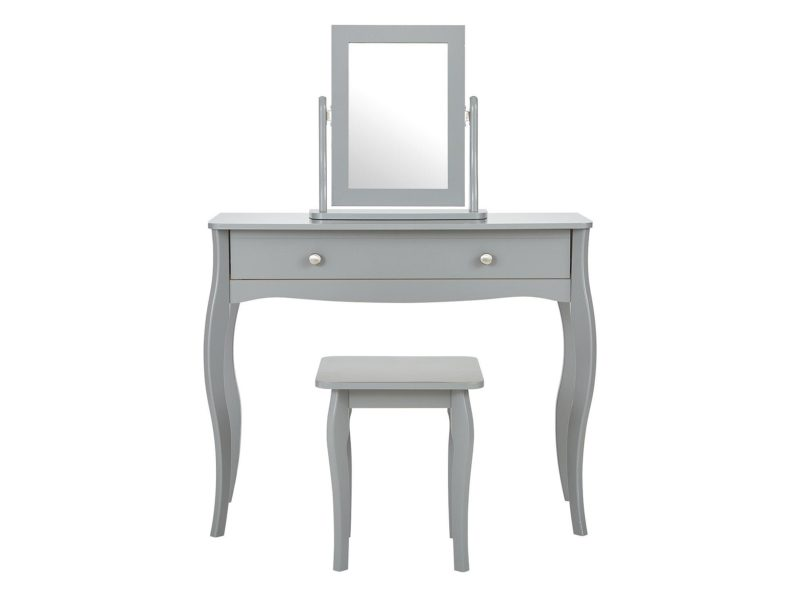 Grey-painted dressing table