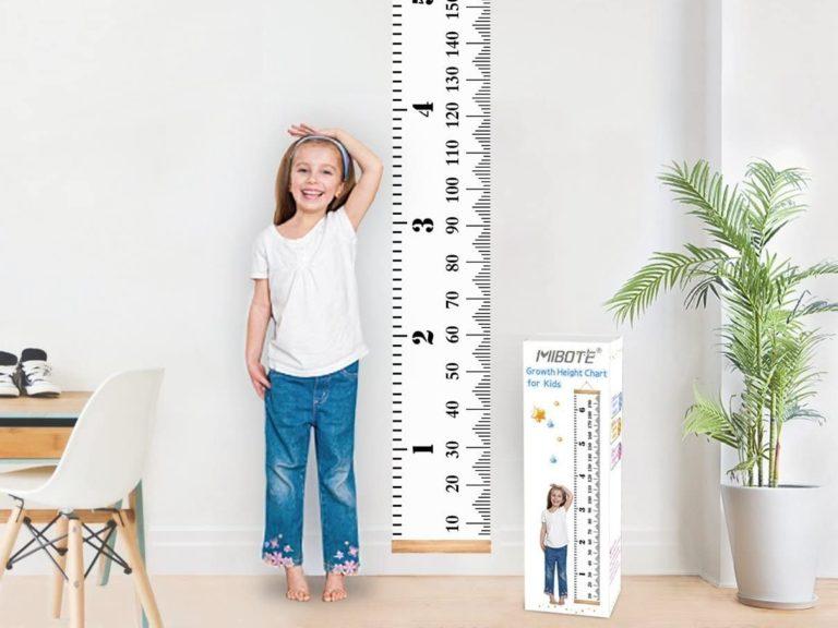 Children's height chart