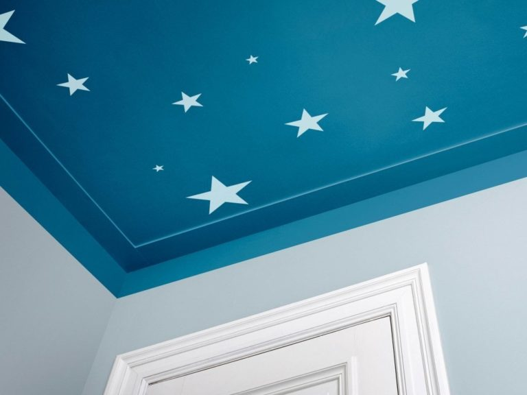 Stars painted ceiling