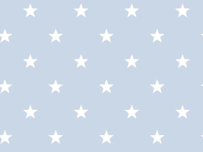 Blue/white star pattern wallpaper