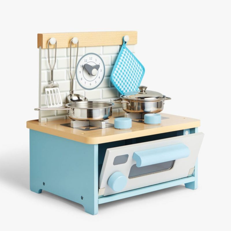 Mini play kitchen