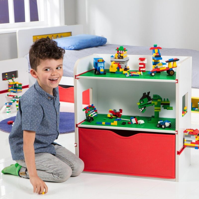 Lego themed storage unit