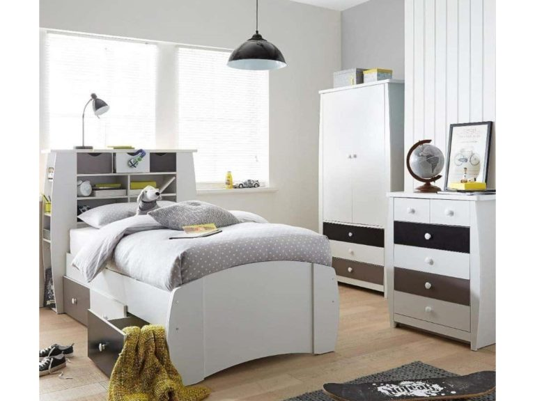 Grey & White Bedroom Furniture