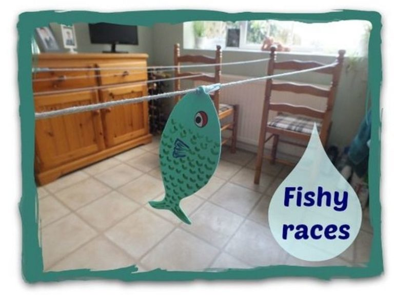 Fishy races game