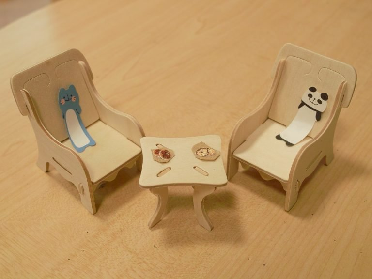 Kids furniture made from mdf