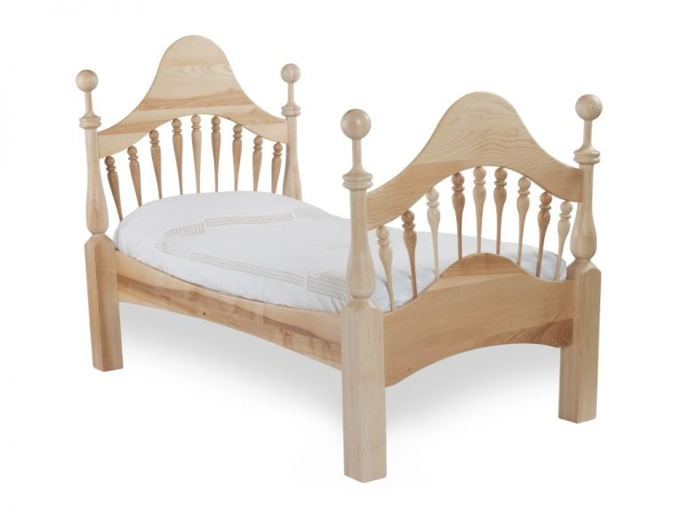 Classic wooden child's bed