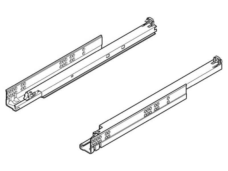 Pair of drawer runners