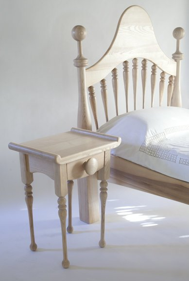 Bed and matching table