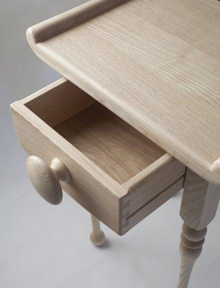 Bedside table drawer detail