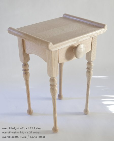 Matching bedside table