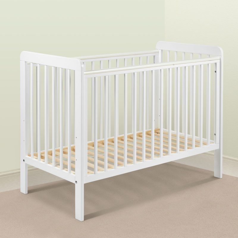 White painted cot