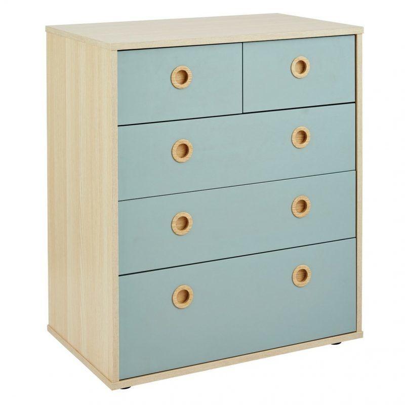 3 plus 2 drawer chest