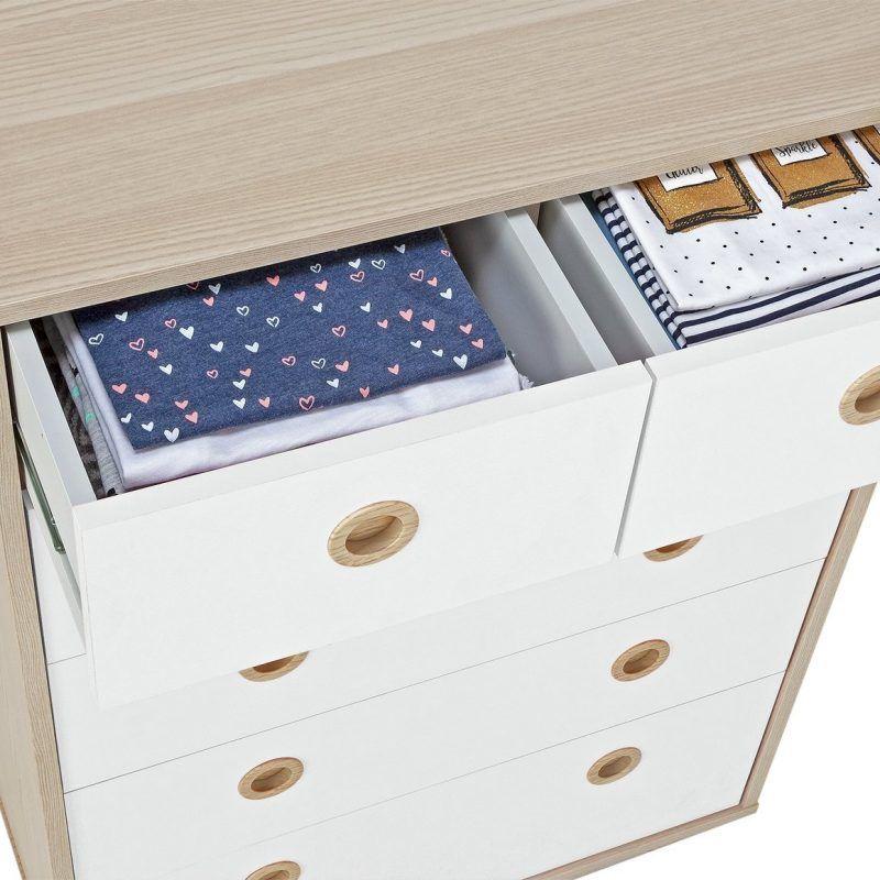 4 plus 2 drawer chest