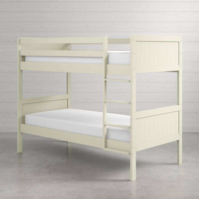 Ivory painted bunk bed