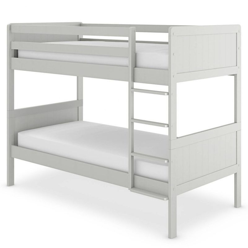 Grey painted bunk bed