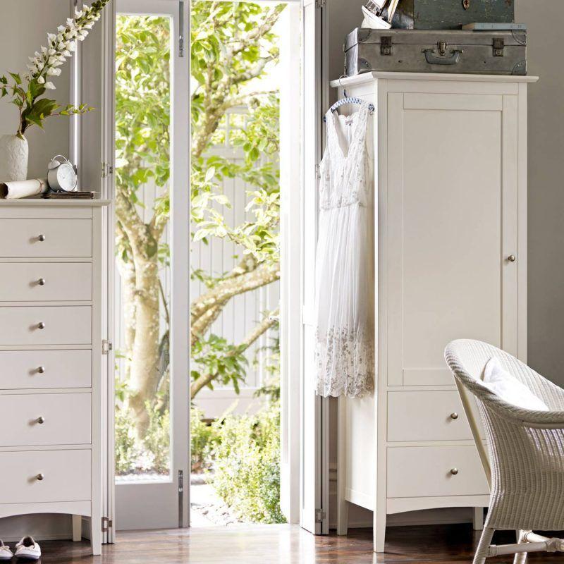 Ivory painted nursery furniture