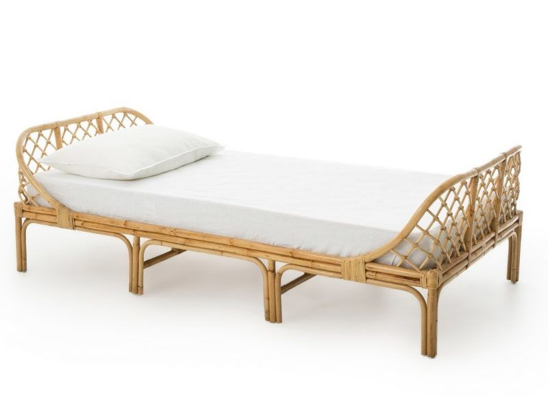 Child's rattan frame bed