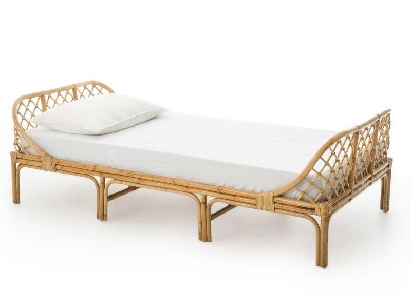 Child's rattan frame bed