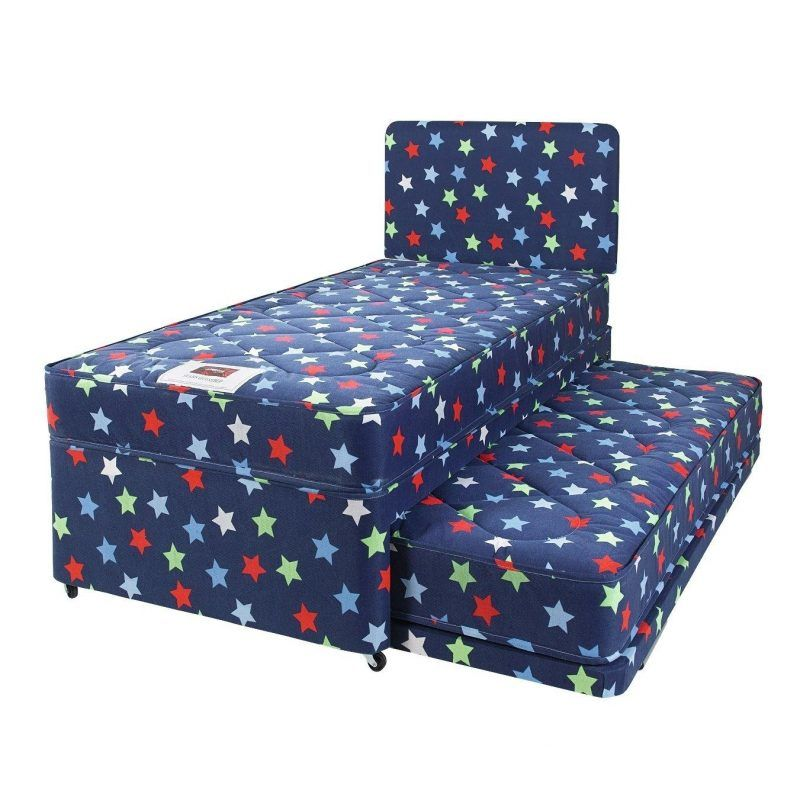 Stars single divan with pull-out guest bed