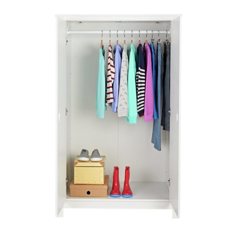 Short wardrobe interior