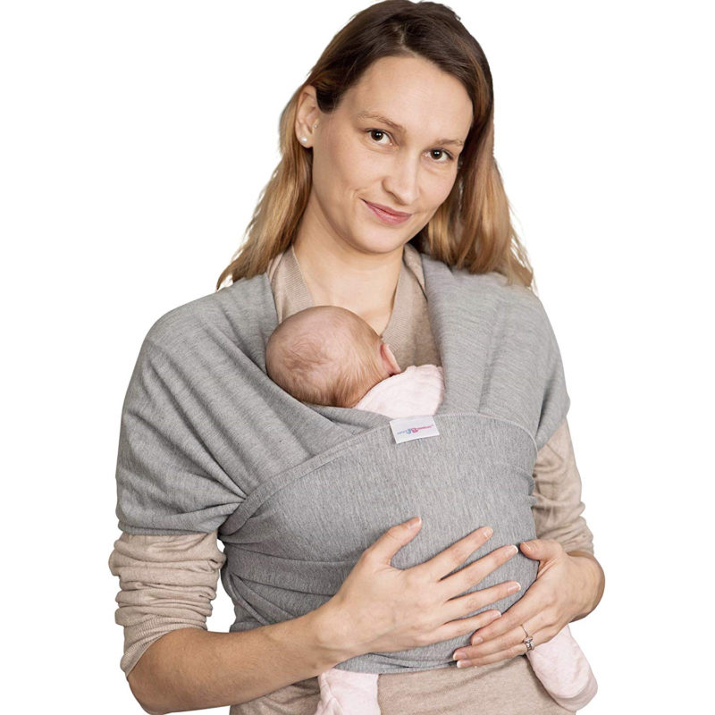 Pouch-style baby carrier