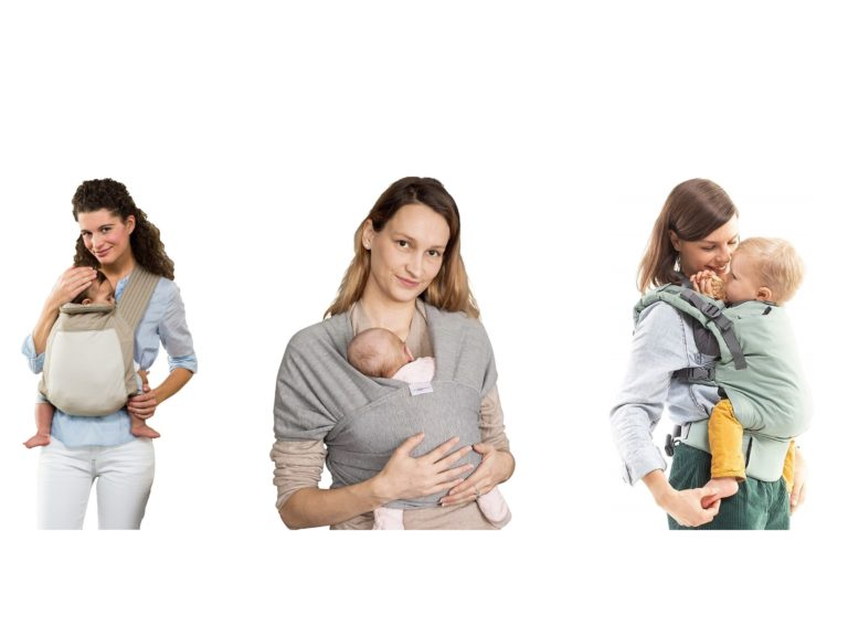 Sling-style baby carriers