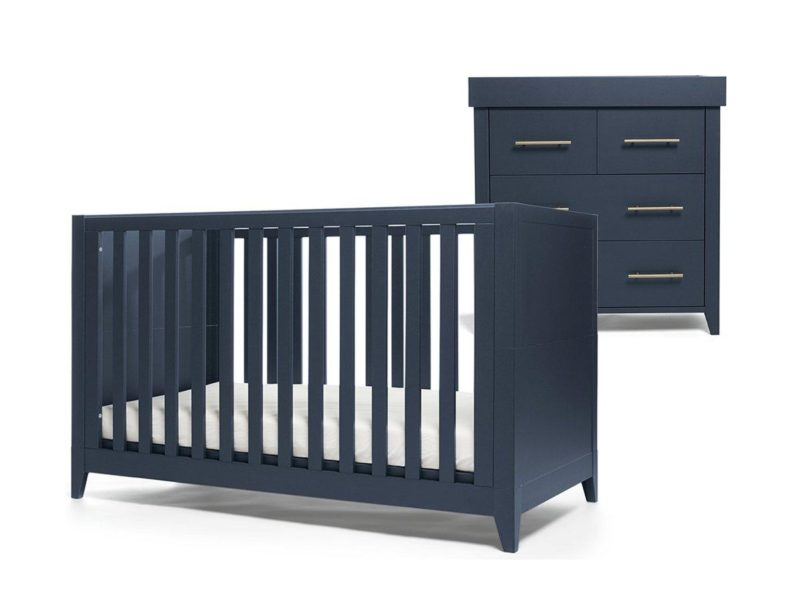 Cot bed and changer dresser