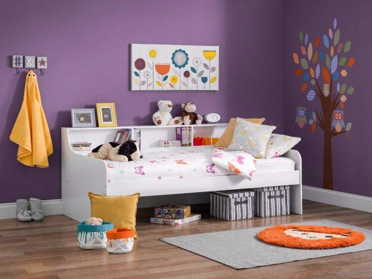 White children's daybed