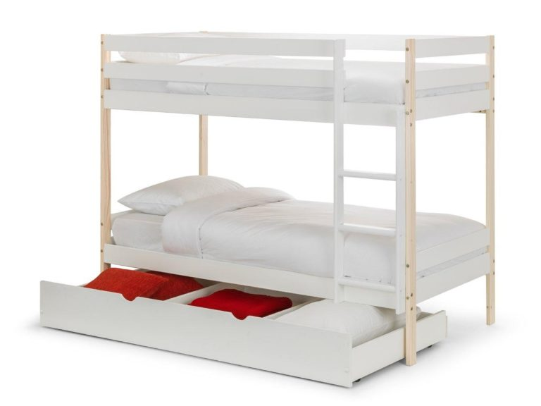 Nova bunk bed with trundle drawer