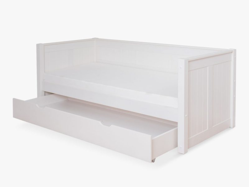 Day bed with trundle drawer