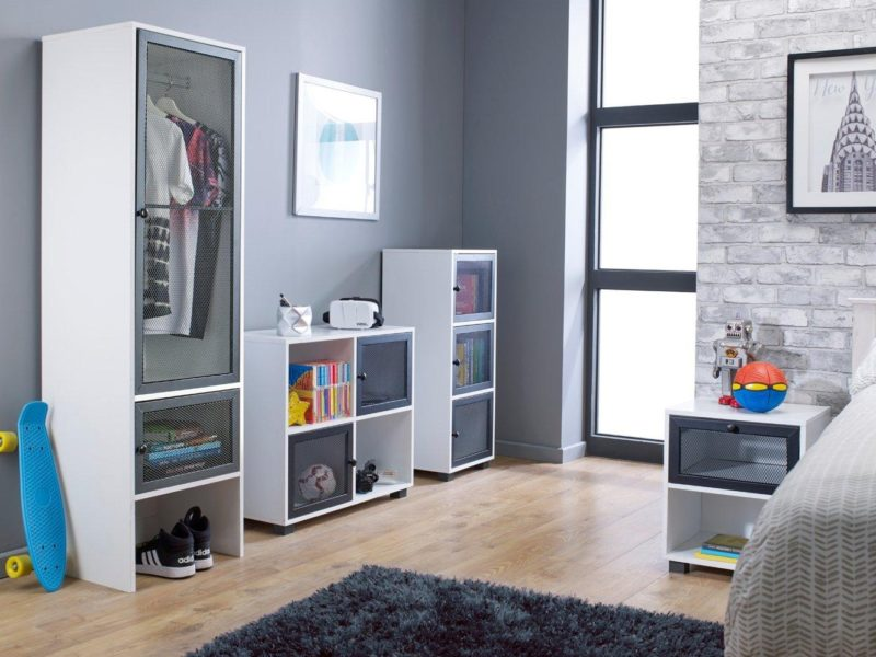 Kid's urban style storage furniture