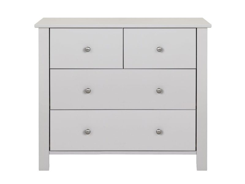 Grey 4 drawer chest