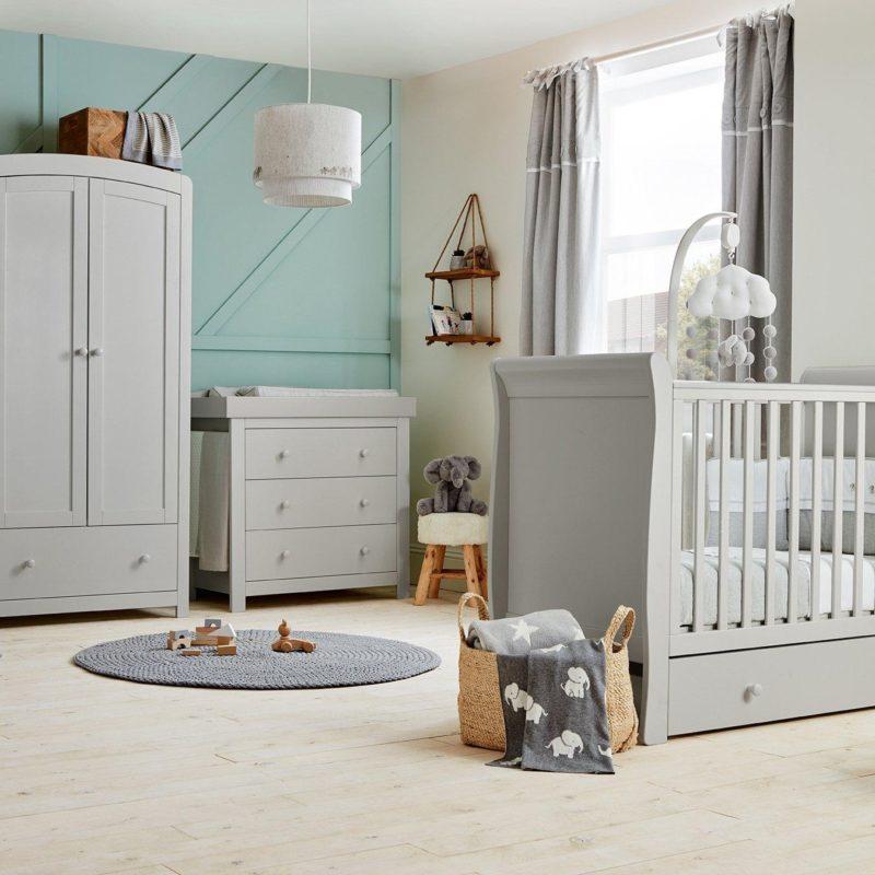 Grey Painted Nursery Furniture